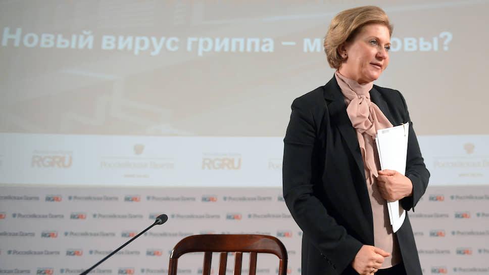 Анна Попова положила начало научной дискуссии о сроках заразности пациентов