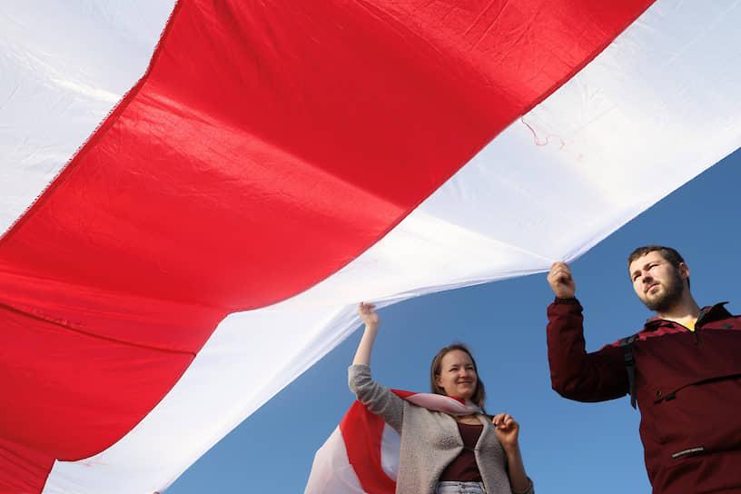 Воскресный митинг белорусской оппозиции