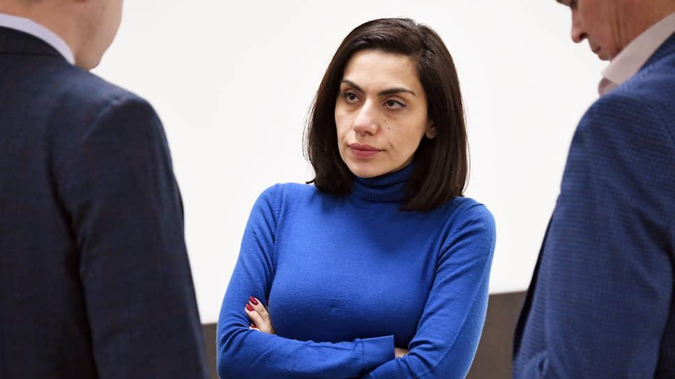 Бывший топ-менеджер «Интер РАО» Карина Цуркан