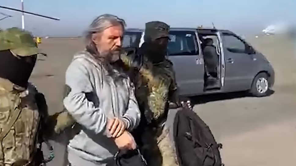 Задержание Сергея Торопа
