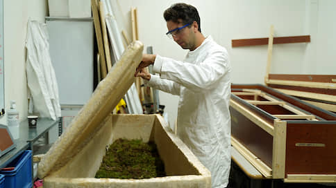 Похороны в грибнице // Нидерландский стартап предлагает после смерти стать компостом для деревьев
