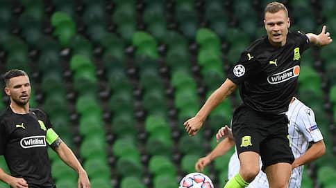 Волевая минималка «Краснодара»  / В первом матче раунда play-off Лиги чемпионов он обыграл греческий ПАОК