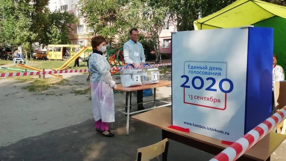 Единый день голосования в Тамбовской области