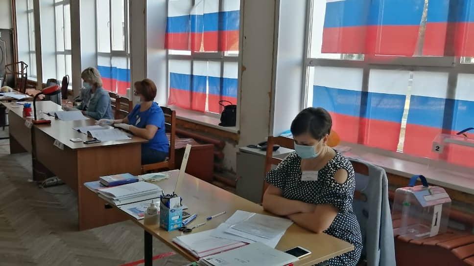 На избирательном участке в Тамбовской области