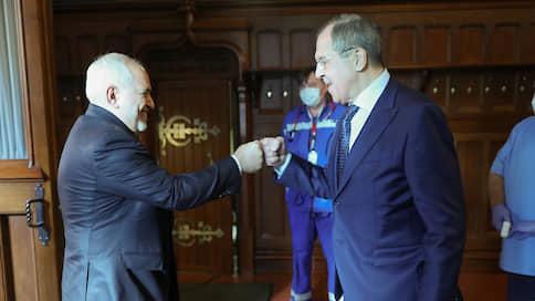 Россия и Иран останутся в своем праве  / Сергей Лавров и Мохаммад Джавад Зариф обсудили стратегию борьбы с американской дипломатией