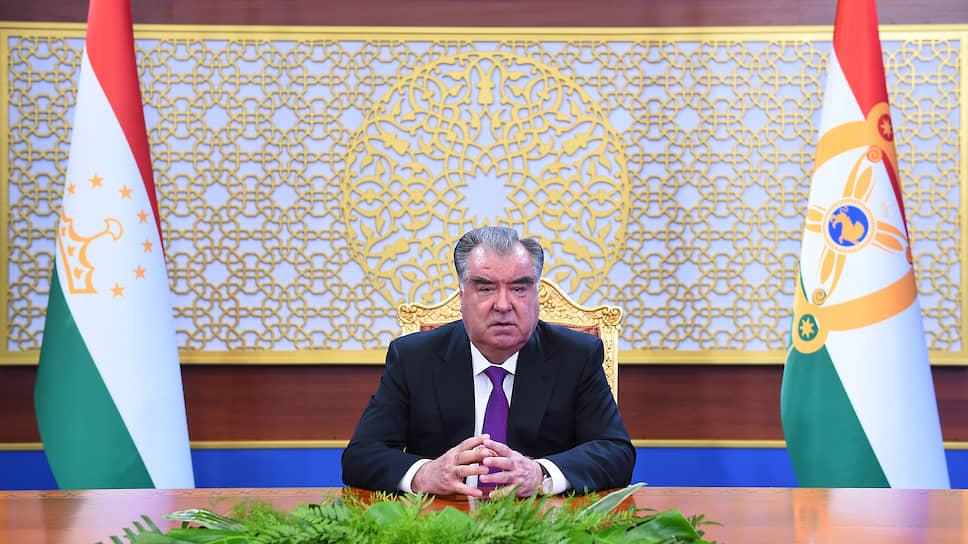 Президент Таджикистана Эмомал Рахмон