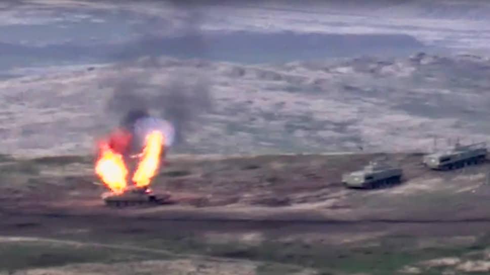 На карабахском фронте есть перемены