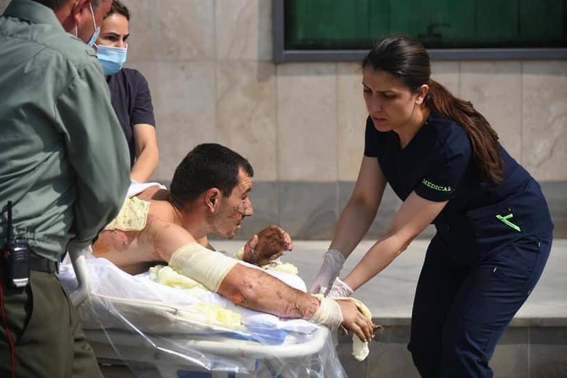 По данным Минобороны непризнанной НКР, ко 2 октября потери республики превысили 150 военнослужащих. 1 октября армянская сторона заявляла, что противник потерял убитыми 1280 военных