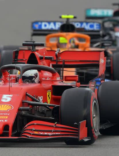 Пилот команды Ferrari Себастьян Феттель