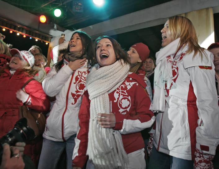 В 2014 году на Олимпиаде в Сочи Чулпан Хаматова вместе с Лидией Скобликовой, Валентиной Терешковой, Никитой Михалковым, Вячеславом Фетисовым, Валерием Гергиевым несла олимпийский флаг на церемонии открытия