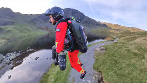 Спасатели прилетят на реактивном ранце