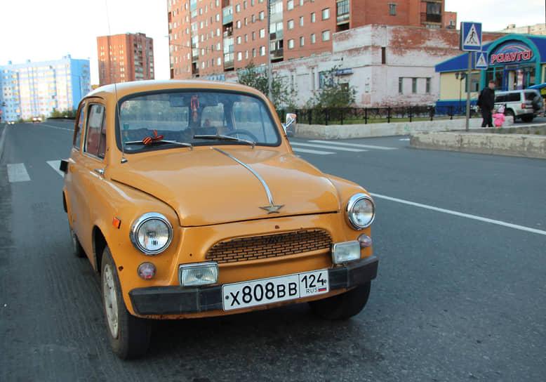 Отреставрированные модели ЗАЗ-965 до сих пор в строю и принимают участие в выставках
