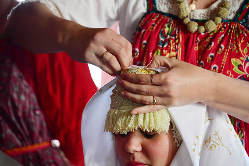 26 сентября. Деревня Погост, Архангельская область. Традиционный свадебный обряд