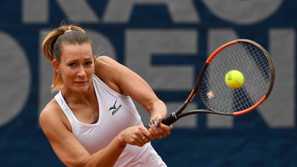 Теннисистка Яна Сизикова
