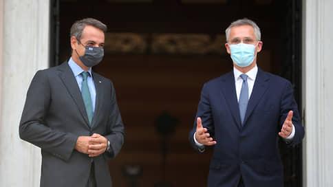 Генсек НАТО проверил Турцию и Грецию на прочность  / Йенс Столтенберг посетил Анкару и Афины после запуска механизма деэскалации
