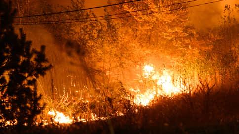 По заповеднику ударили с воздуха  / Причиной крупнейшего лесного пожара в Воронежской области могли стать стрельбы военных