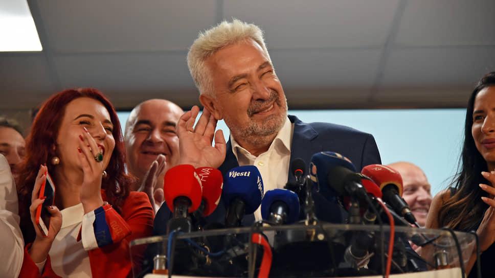 Выдвинутый на пост премьера Черногории Здравко Кривокапич предложил сделать праздником в стране 23 сентября — день формирования большинства в парламенте