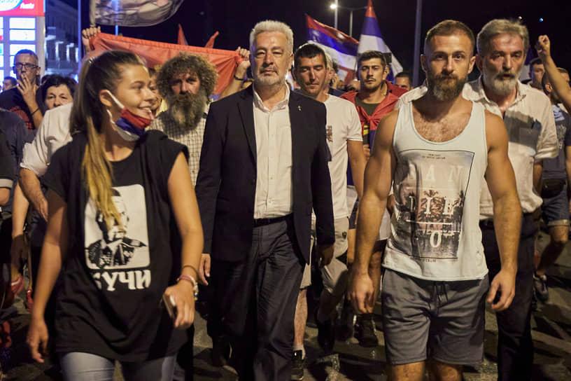 Лидер оппозиционной коалиции Здравко Кривокапич