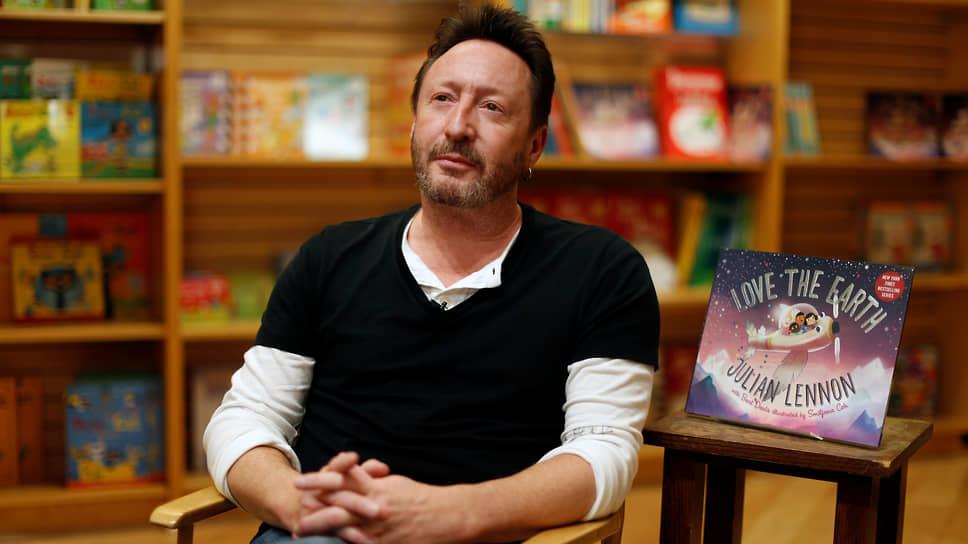 Джулиан Леннон в 2017-2019 годах написал книжную трилогию для детей, попавшую в список бестселлеров The New York Times. На фото – Джулиан на презентации заключительной книги трилогии