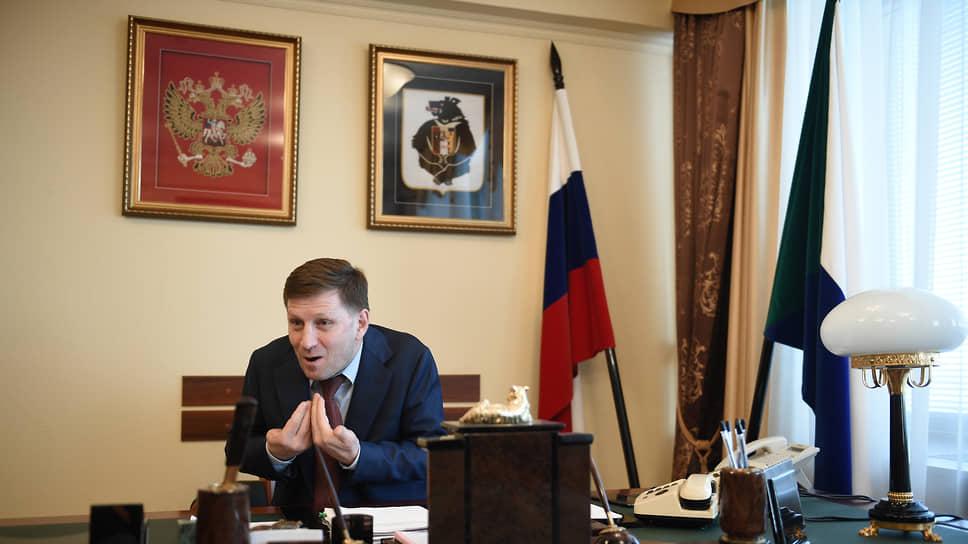 Губернатор Хабаровского края Сергей Фургал. 2019 год