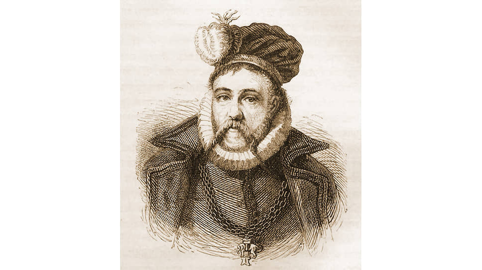 Утверждали, что продолжительное общение с Тихо Браге (на гравюре) помогло Якову VI Шотландскому стать Яковом I Английским