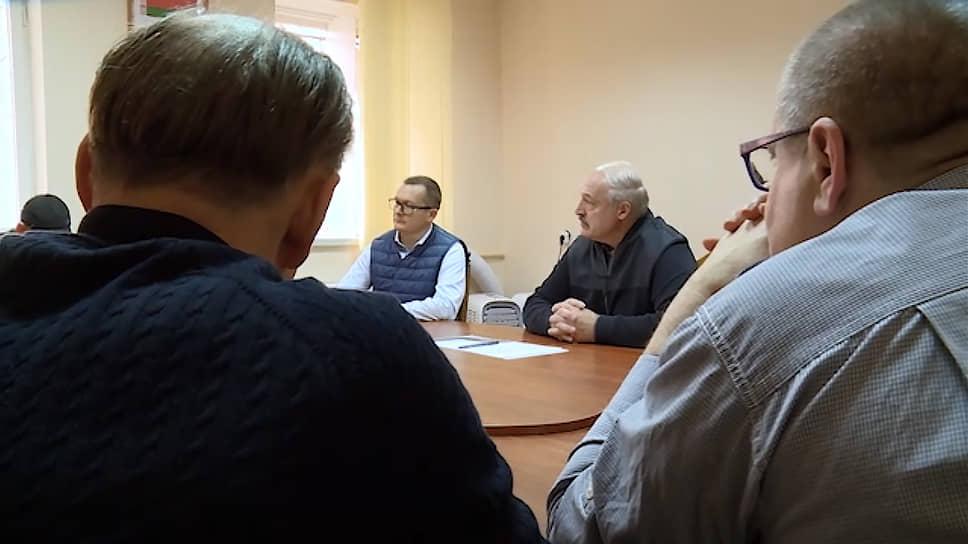Встреча президента Белоруссии Александра Лукашенко с представителями оппозиционных политических движений