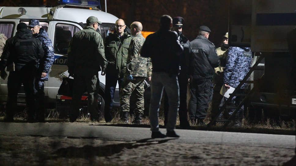 Последствия стрельбы в Нижегородской области