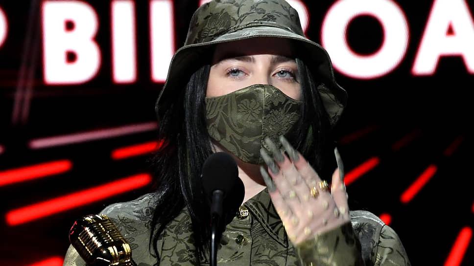 Певица Билли Айлиш получила награды в категориях «Лучший новый артист», «Лучшая исполнительница» и «Лучший альбом из чарта Billboard 200»