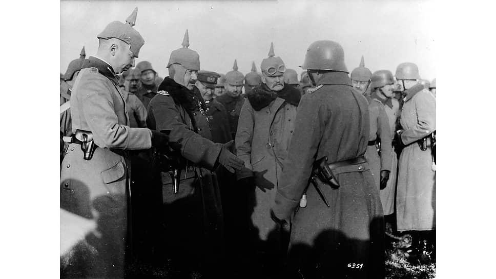«Мы сознаем трудность положения, которое наступает для Германии с 1916 года» (на фото второй слева — кайзер Вильгельм II)