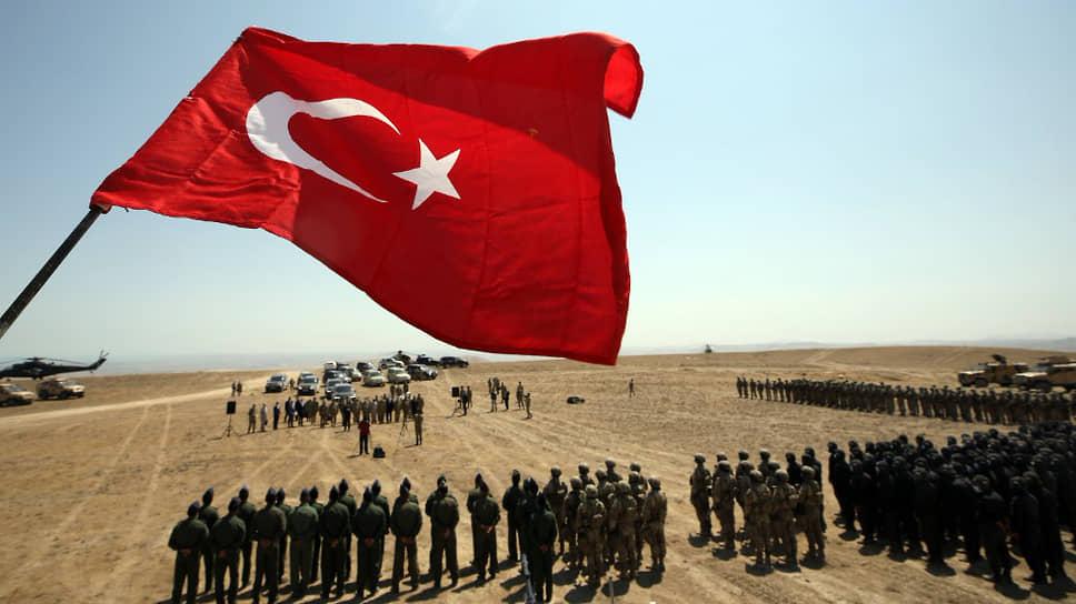 Турецко-азербайджанские учения в Пирекешкюле (Азербайджан) в августе 2020 года