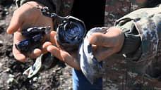 Последствия обстрела в Шоше
