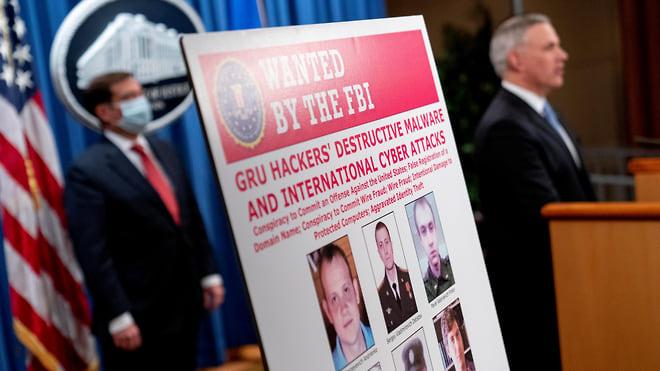 Русских хакеров обвинили по полной программе  / Власти США насчитали ущерб от их действий на $10млрд