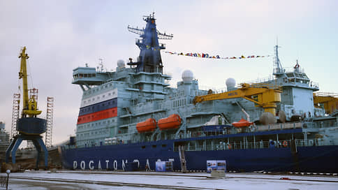 «Атомфлот» принял «Арктику»  / Сдан самый мощный в мире атомный ледокол
