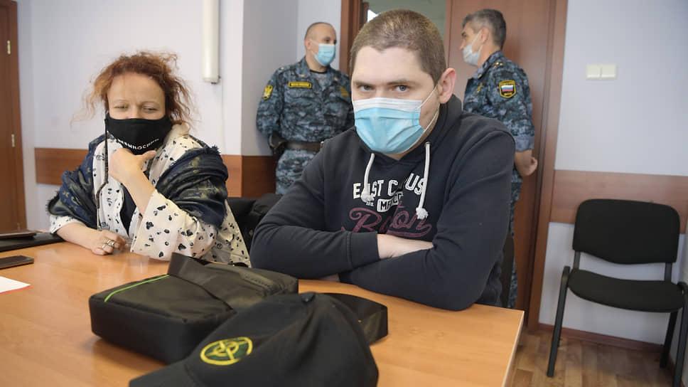 Адвокат Мария Эйсмонт (слева) и Павел Ребровский