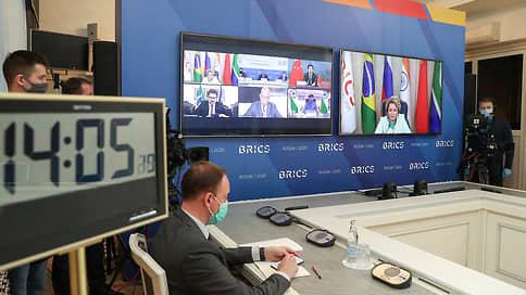 В БРИКС не без COVID  / Председатели парламентов России, Индии, КНР, Бразилии и ЮАР обсудили пандемию