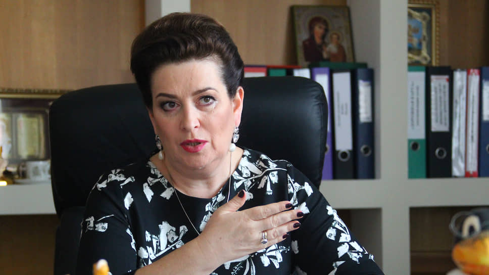 Бывший министр здравоохранения Ростовской области Татьяна Быковская