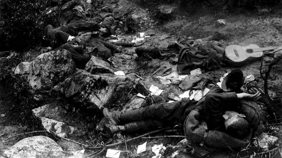 «Они не могут не сознавать, что главная причина катастрофы — возмутительное поведение их же армии»