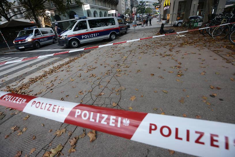 Центр Вены закрыт полицией