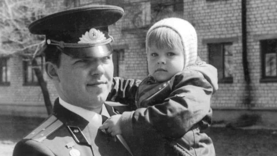 Иван Сафронов-старший с дочерью Ириной