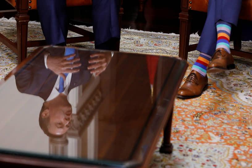 Встреча с премьер-министром провинции Альберта Кенни Джейсоном на Парламентском холме в Оттаве, декабрь 2019 года