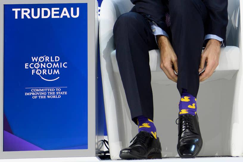 Всемирный экономический форум в Давосе (Швейцария), январь 2018 года