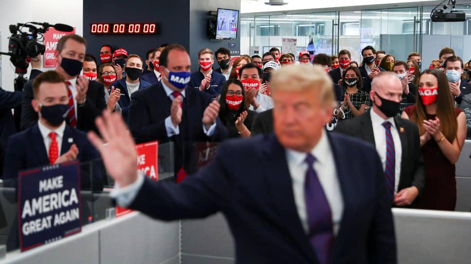 Дональд Трамп в Овальный кабинет не вписывается