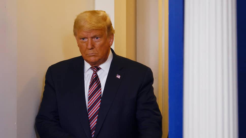 Действующий президент США Дональд Трамп