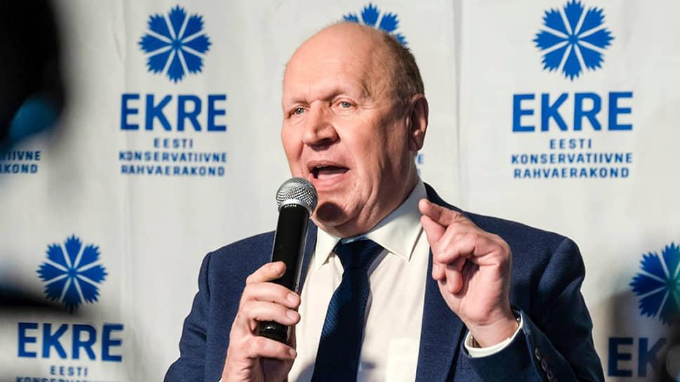 Американские выборы разваливают правительство Эстонии