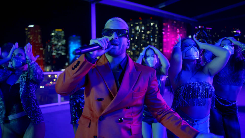 Колумбийский певец Maluma в Майами