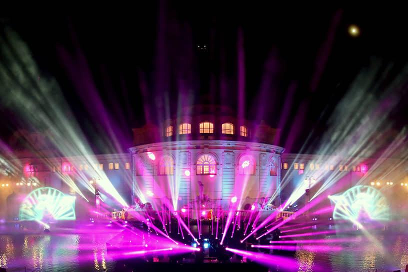 Выступление французского диджея David Guetta в Будапеште