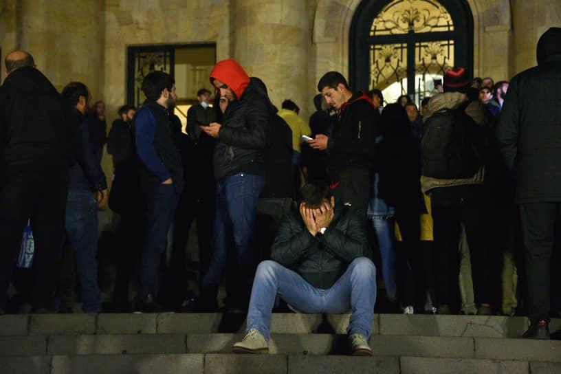 Протесты армян в Ереване