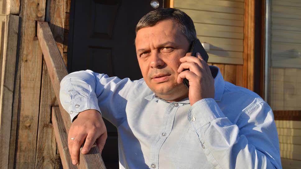 Бывший кандидат на пост главы Хакасии от Партии роста Александр Мяхар