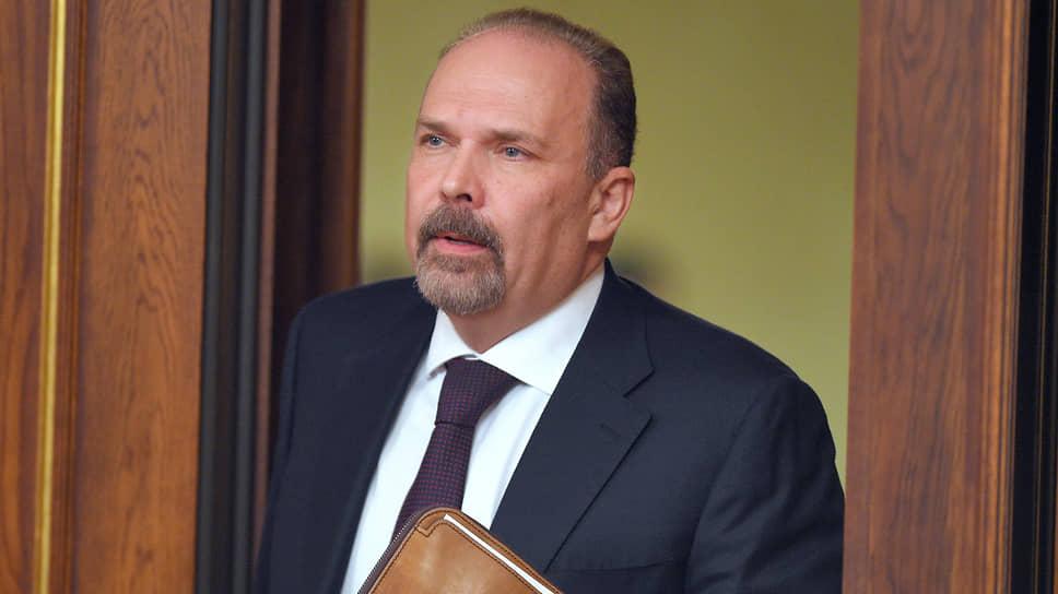 Аудитор Счетной палаты Михаил Мень
