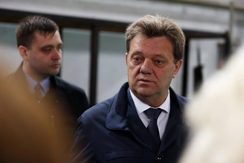 Отстраненный от должности мэр Томска Иван Кляйн